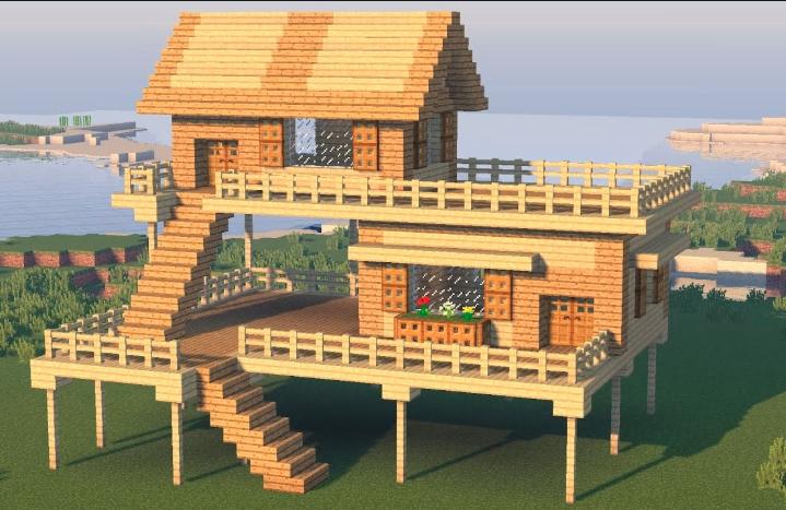 Майнкрафт дом
