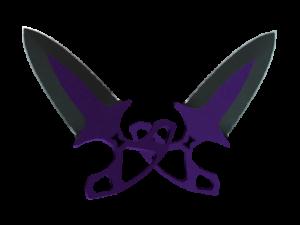 Shadow Daggers Ультрафиолет