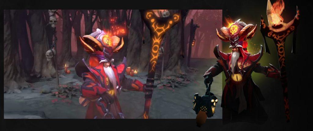 Warden of the HellBorn Dota 2