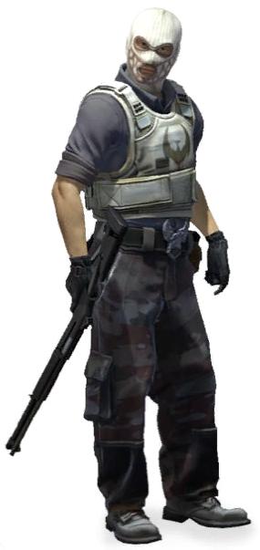 Уличный солдат CS:GO