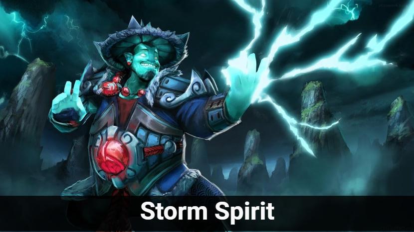 storm spirit dota 2