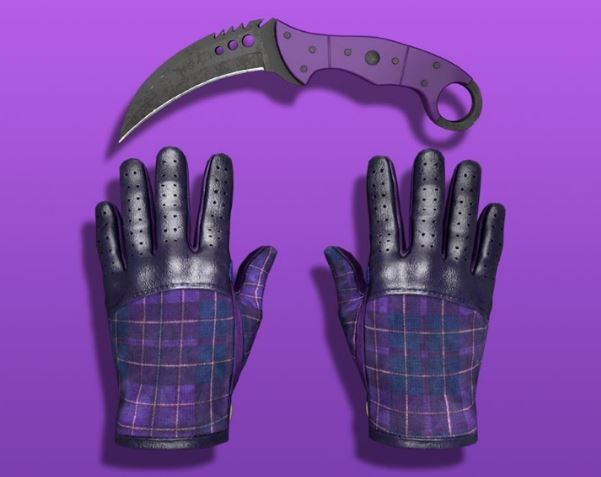 нож и перчатки кс го