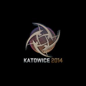 Наклейка Ninjas in Pyjamas Holo Katowice 2014 кс го