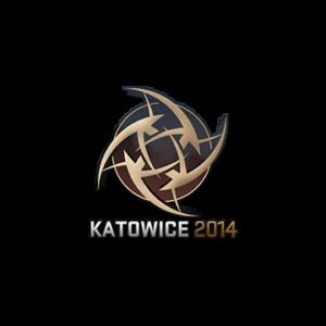Наклейка Ninjas in Pyjamas Katowice 2014 кс го