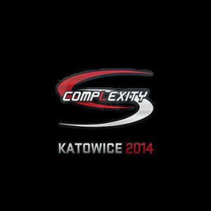 Наклейка Complexity Gaming Katowice 2014 кс го