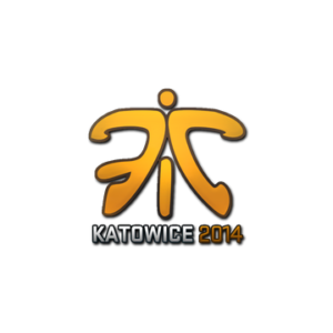 Наклейка Fnatic Holo Katowice 2014 кс го