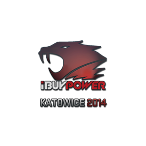 Наклейка iBuypower Katowice 2014 кс го