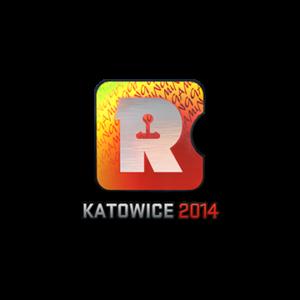 Наклейка Reason Gaming Holo Katowice 2014 кс го