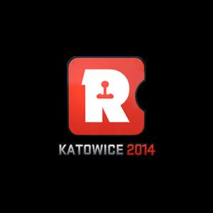 Наклейка Reason Gaming Katowice 2014 кс го