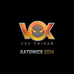 Наклейка Vox Eminor Holo Katowice 2014 кс го