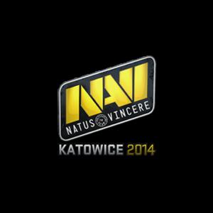 Наклейка Natus Vincere Katowice 2014 кс го