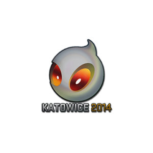 Наклейка Team Dingitas Holo Katowice 2014 кс го