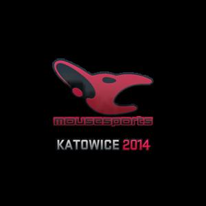 Наклейка mousesports Katowice 2014 кс го