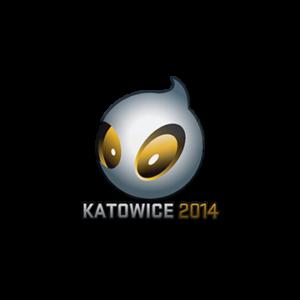 Наклейка Team Dingitas Katowice 2014 кс го