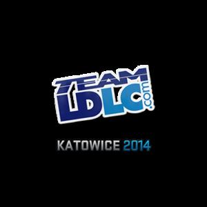 Наклейка Team LDLC Katowice 2014 кс го