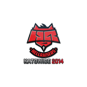 Наклейка Hellraisers Katowice 2014 кс го