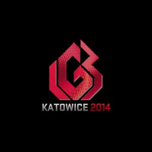 Наклейка LGB Holo Katowice 2014 кс го