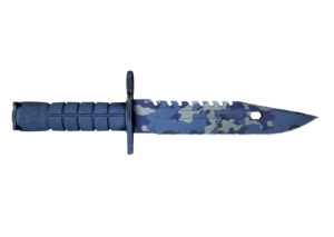 Штык-нож М9 Чистая вода кс го