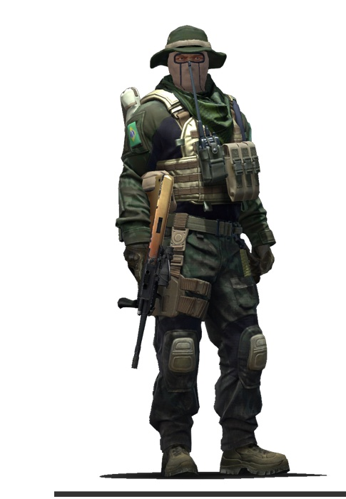 Старший лейтенант CS:GO