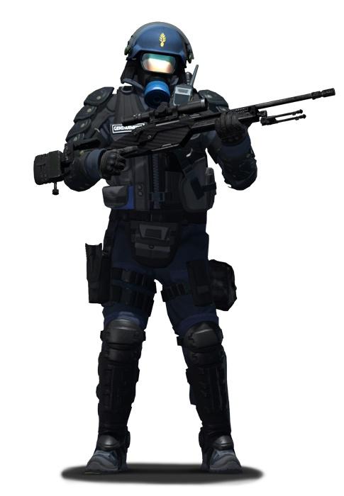 Капитан химзащиты CS:GO