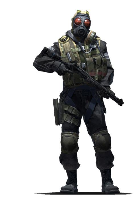 Офицер отряда B CS:GO