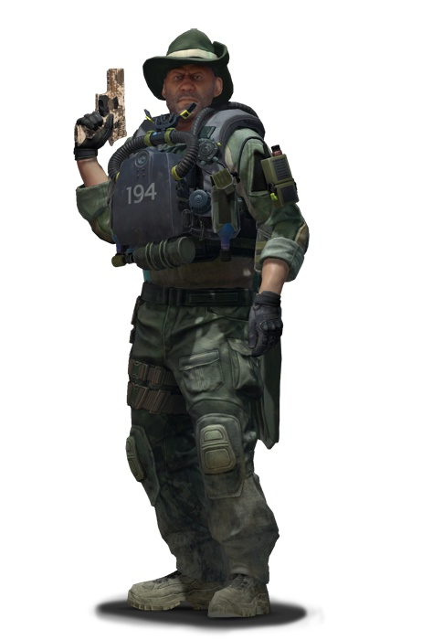 Лейтенант Рекс Крайки CS:GO