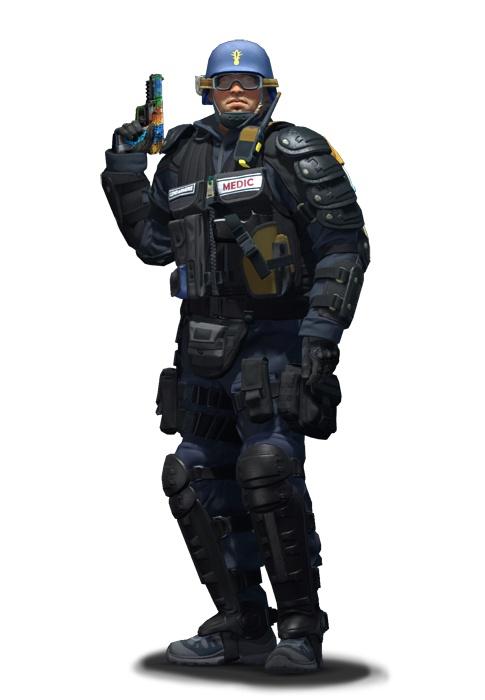 Второй лейтенант медслужбы CS:GO