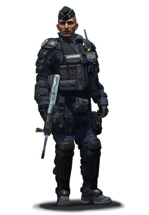 Офицер Жак Белтрам CS:GO